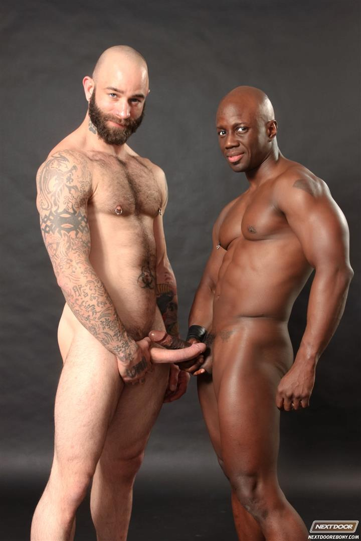 Black guy and black shemale have hot sex 3