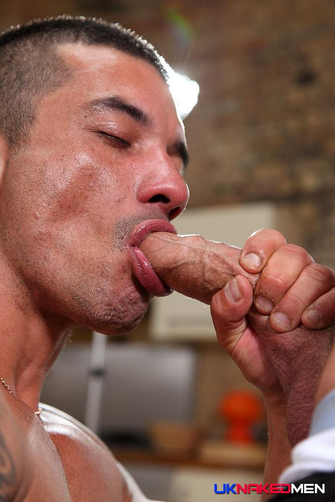 UK Naked Men Gio Cruz and Mark Coxx Big Muscle Uncut Cock Guys Fucking Amateur Gay Porn 05 Muscle Daddy Fucks an Amateur Younger Guy With A Huge Uncut Cock