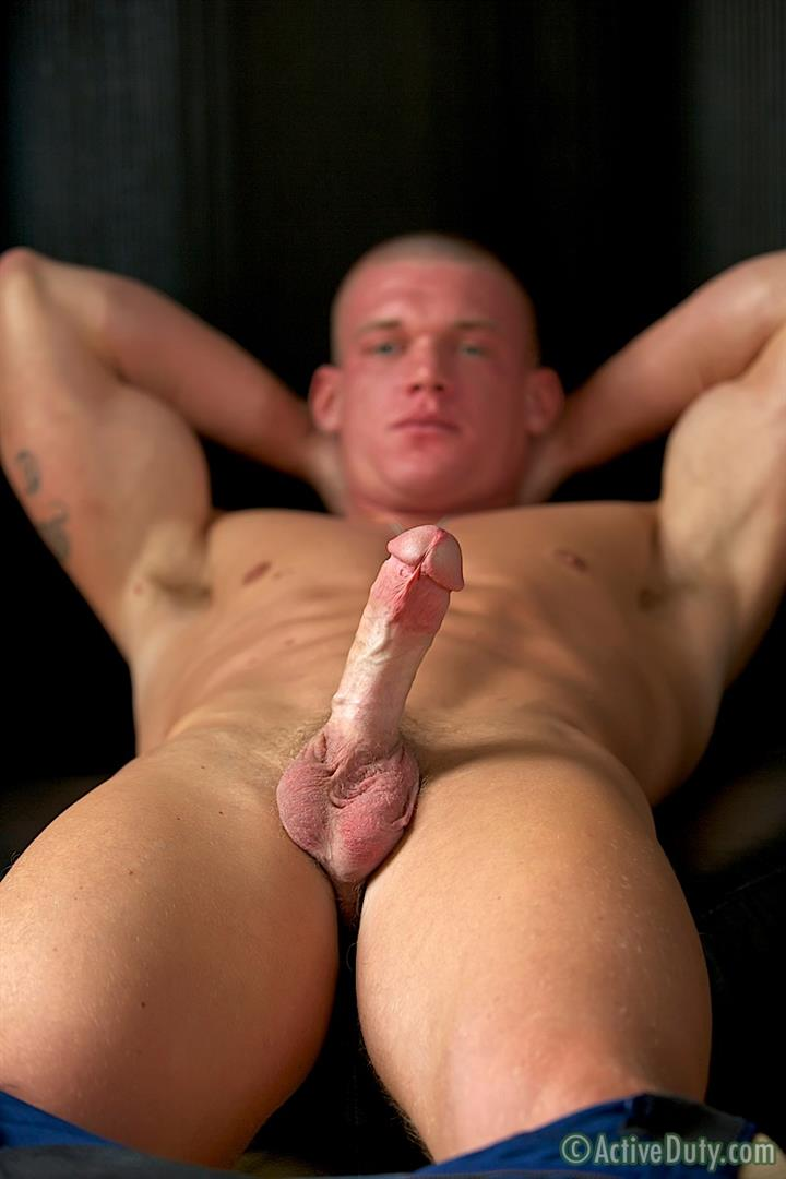 Active-Duty-Tanner-Muscle-Marine-Jerking-His-Big-Mushroom-Head-Cock-Amateur-Gay-Porn-15 Semper Fi!  Real Muscle Marine Jerking His Mushroom Head Cock