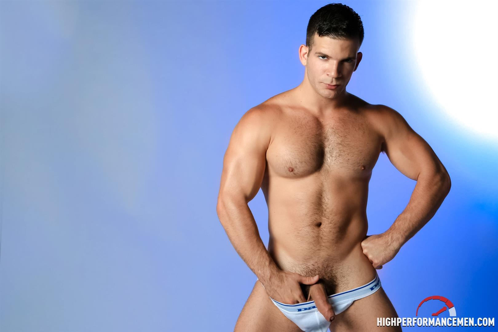 High-Performance-Men-Angel-Rock-Big-Uncut-Cock-Jerking-Off-Latino-Amateur-Gay-Porn-09 Muscle Hunk Angel Rock Jerking Off His Big Uncut Cock