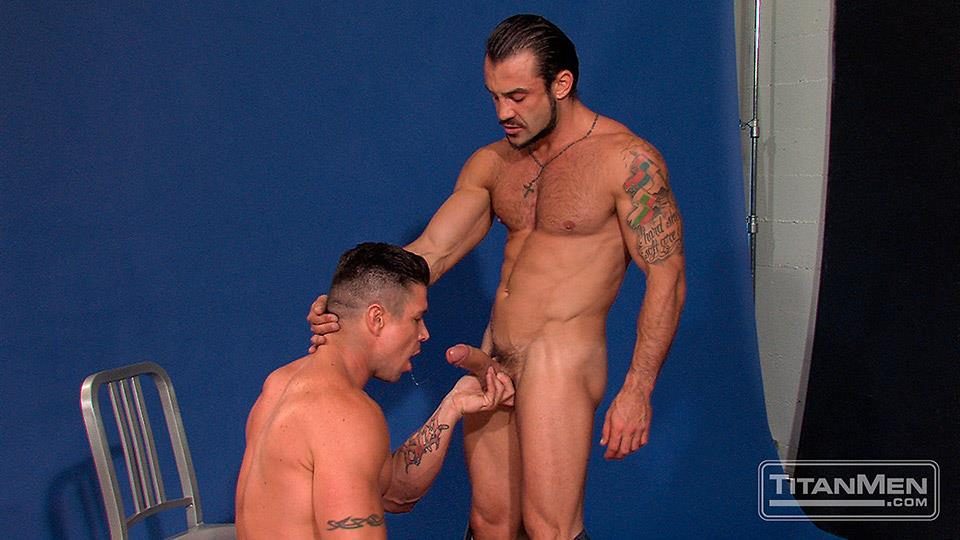 Titan-Men-Pounded-Scene-1-George-Ce-Trenton-Ducati-Muscle-Hunks-With-Big-Uncut-Cock-Fucking-Amateur-Gay-Porn-18 Muscle Hunk With A Thick Uncut Cock Fucks Another Muscle Hunk
