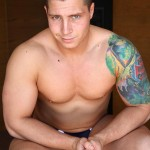 Bentley-Race-Tom-Lucas-Big-Muscle-Hunk-Jerks-His-Big-Thick-Uncut-Cock-Amateur-Gay-Porn-10-150x150 Professional Aussie Wrestler Strips And Strokes His Thick Uncut Cock