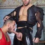 Cazzo Club Bruno Cane and Luca di Neppe Rubber Pigs Fucking Amateur Gay Porn 08 150x150 Hairy Muscle Rubber Pig Slave Gets Fucked Hard By His Muscle Master