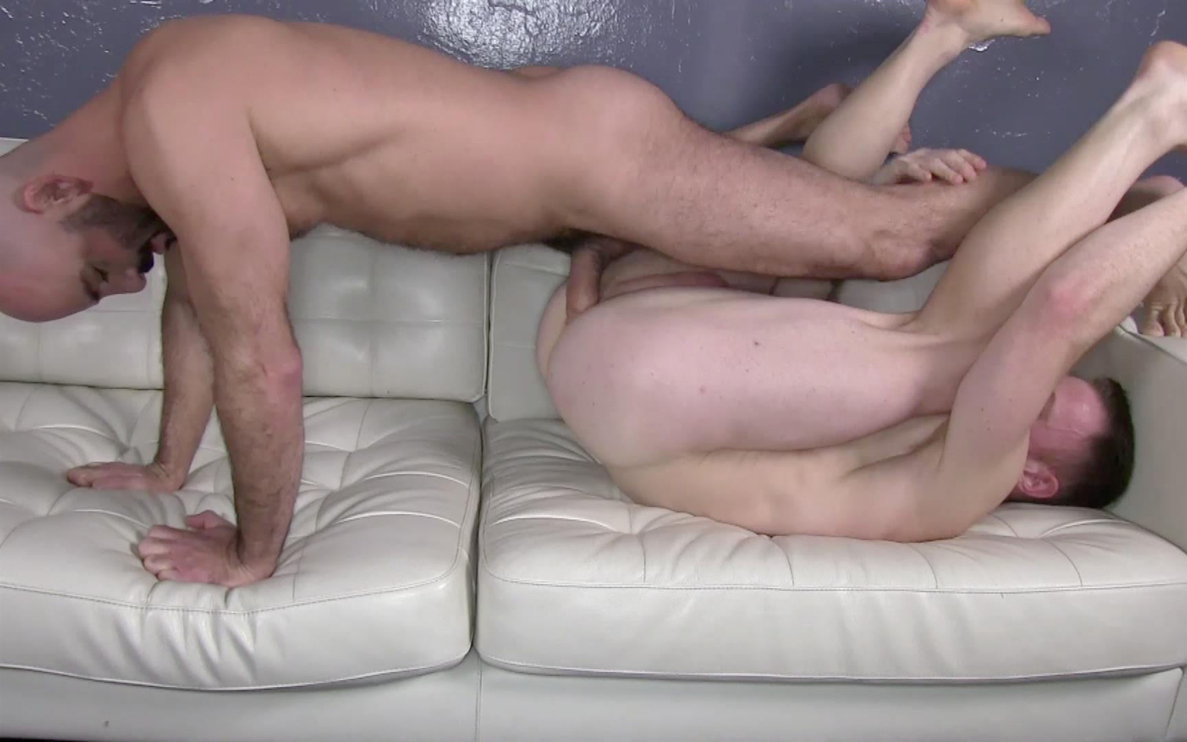 Raw-Fuck-Club-Adam-Russo-and-Saxon-West-masculine-guys-barebacking-Amateur-Gay-Porn-2 Red Headed Muscle Hunk Saxon West Takes A Big Raw Cock Up The Ass