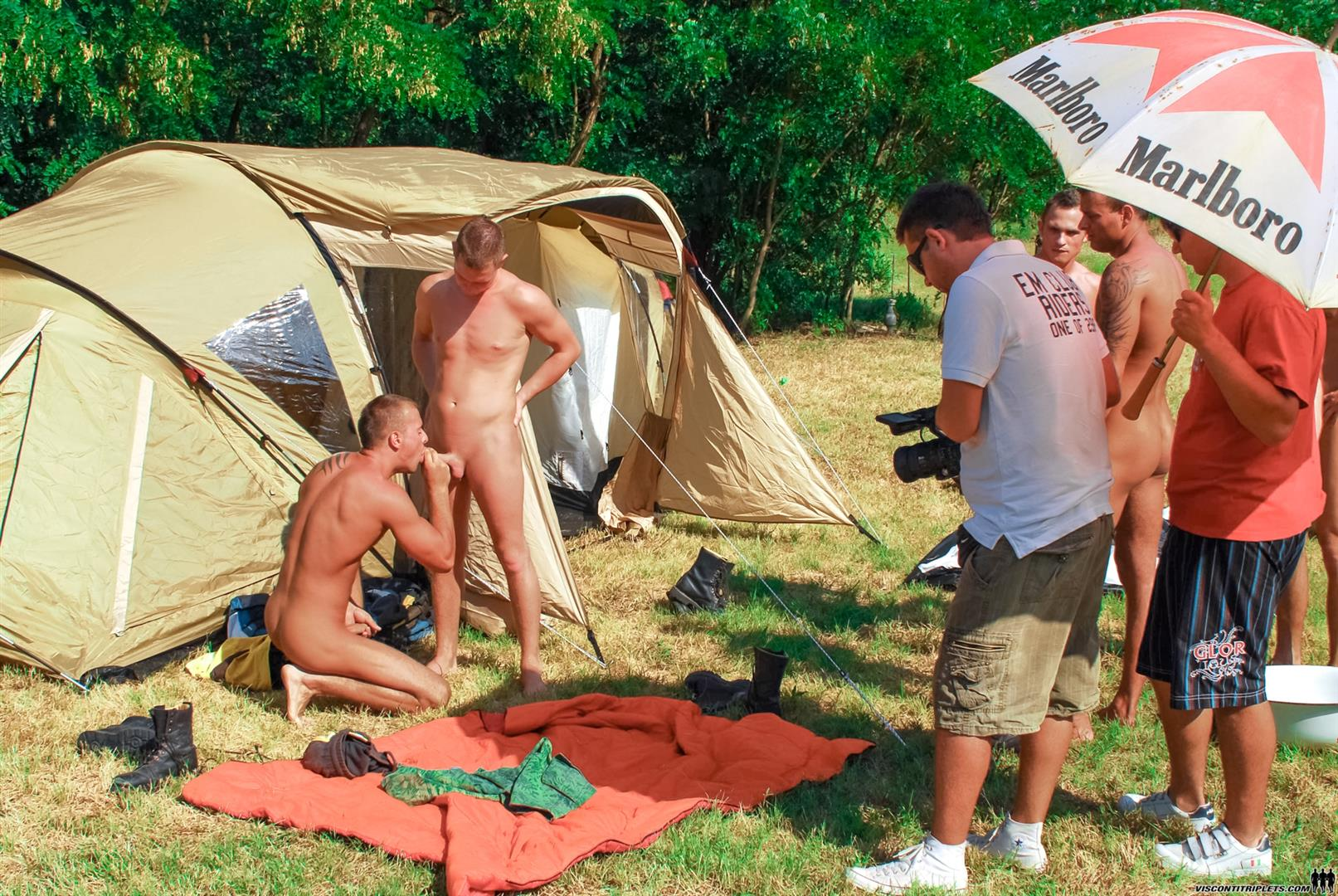 camping groupe complet movie
