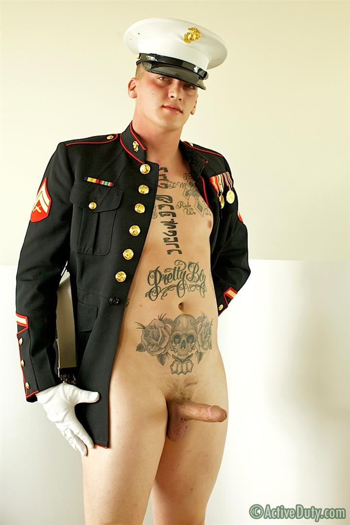 ActiveDuty-Marine-Quinn-Straight-Marine-Jerking-Off-Thick-Cock-Amateur-Gay-Porn-09 Real Tatted Straight Marine Jerking His Thick Cock
