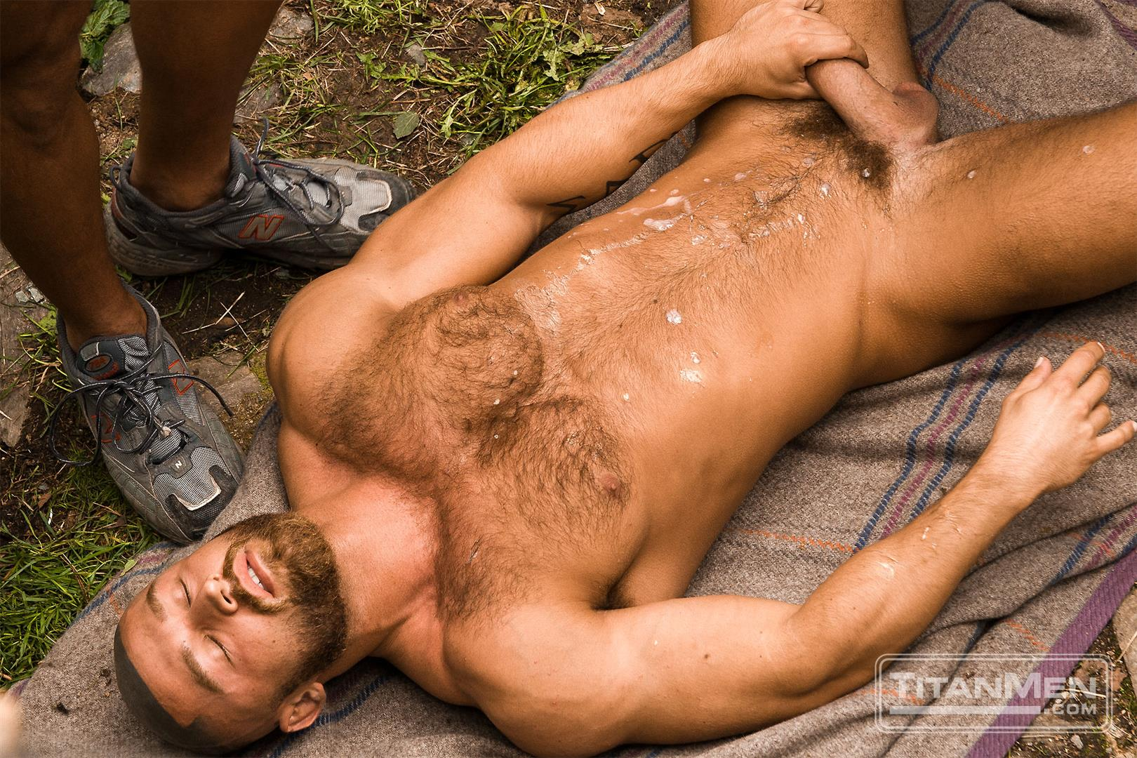 TitanMen-Cum-Shots-from-Hairy-Muscle-Hunks-Amateur-Gay-Porn-6 One Video and A Gallon Of Hot Cum
