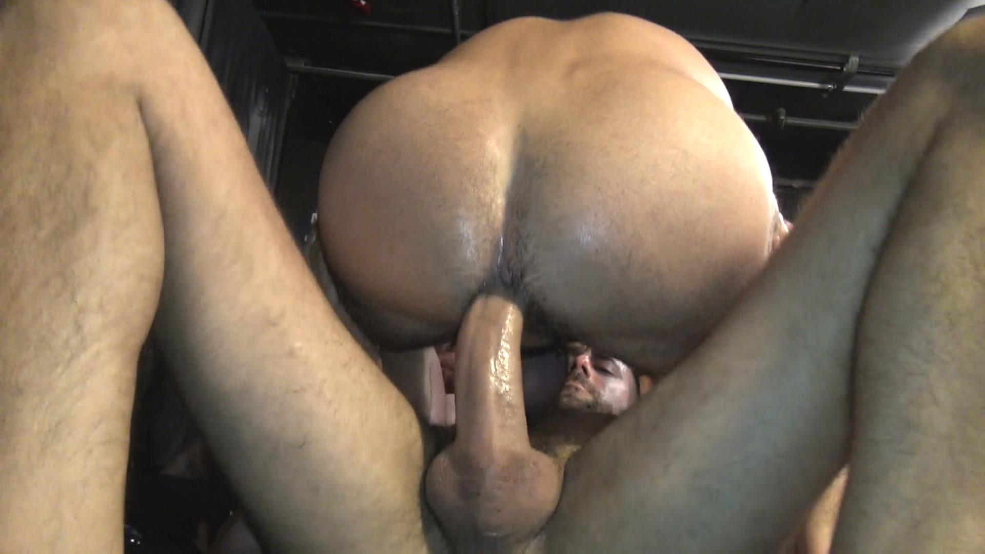 Raw Fuck Club Blue Bailey and Dylan Strokes and Adam Russo and Dean Brody and Jay Brix Bareback Orgy Amateur Gay Porn 5 Adam Russo Getting Double Penetrated At A Bareback Sex Party