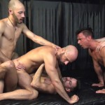 Raw Fuck Club Blue Bailey and Dylan Strokes and Adam Russo and Dean Brody and Jay Brix Bareback Orgy Amateur Gay Porn 7 150x150 Adam Russo Getting Double Penetrated At A Bareback Sex Party