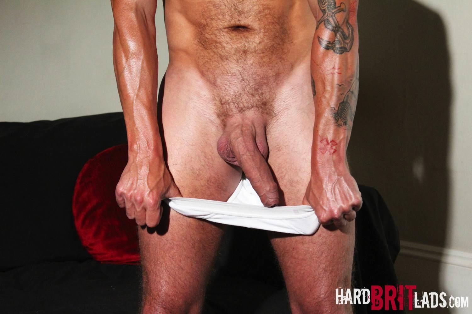 Hard-Brit-Lads-Sam-Porter-British-Muscle-Hunk-With-A-big-Uncut-cock-Amateur-Gay-Porn-07 Tatted Muscle British Hunk Sam Porter Jerking His Big Uncut Cock
