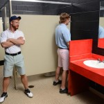 Men Jizz Orgy Swingers Bennett Anthony and Cameron Foster and Colt Rivers and Tom Faulk Fucking Bathroom Amateur Gay Porn 04 150x150 Hung Golfing Buddies Fucking In The Bathroom and Clubhouse
