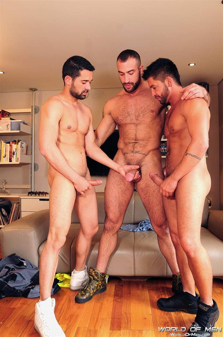World-Of-Men-Spencer-Reed-and-Dominic-Pacifico-and-Billy-Baval-Taking-Two-Huge-Cocks-Up-The-Ass-Tagteam-Amateur-Gay-Porn-05 Dominic Pacifico Getting Tag Teamed By Two Huge Cocks