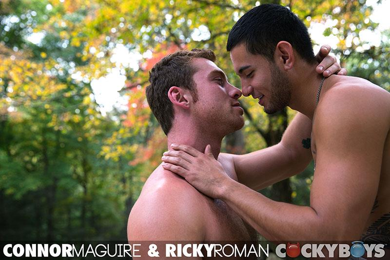 CockyBoys Connor Maguire and Ricky Roman Hunks Fucking With Big Uncut Cocks Amateur Gay Porn 30 Connor Maguire Fucking Ricky Roman With His Big Uncut Cock
