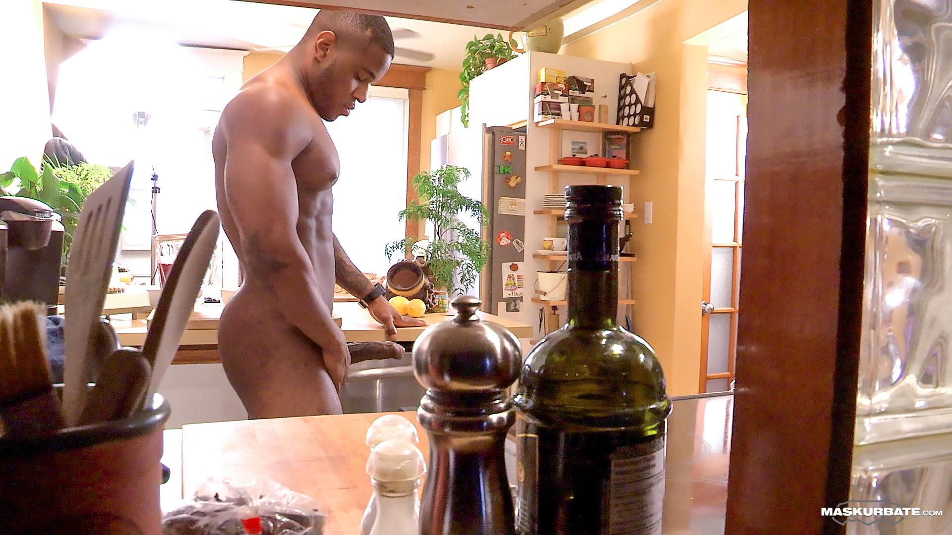 Maskurbate Adam Black Muscle Guy Jerking His Big Black Uncut Cock Amateur Gay Porn 10 Black Bodybuilder Strokes His Big Black Uncut Cock