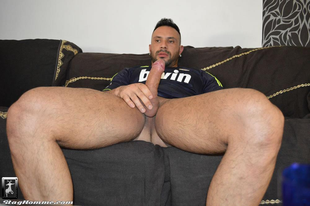 Stag-Homme-Antonio-Aguilera-and-Flex-Big-Uncut-Cock-Muscle-Hunks-Fucking-Amateur-Gay-Porn-05 Drunk Muscle Hunk With A Big Uncut Cock Gets Fucked