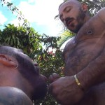 Cum Pig Men Alessio Romero and Ethan Palmer Hairy Muscle Latino Daddy Cocksucking Amateur Gay Porn 17 150x150 Hairy Latino Muscle Daddy Gets A Load Sucked Out And Eaten