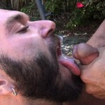 Cum Pig Men Alessio Romero and Ethan Palmer Hairy Muscle Latino Daddy Cocksucking Amateur Gay Porn 21 150x150 Hairy Latino Muscle Daddy Gets A Load Sucked Out And Eaten
