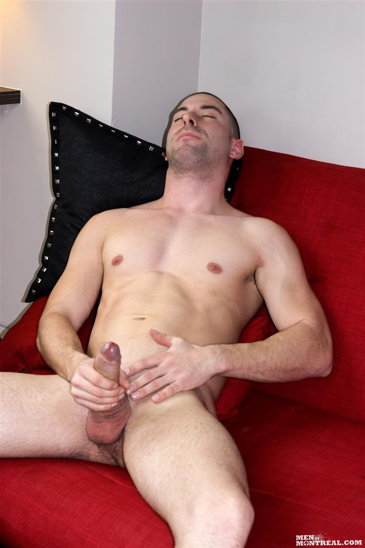 Men of Montreal Cedrick Dupuy Hung Muscle Guy With Big Uncut Cock Amateur Gay Porn 15 Canadian Hunk With A Big Uncut Cock Auditions For Gay Porn