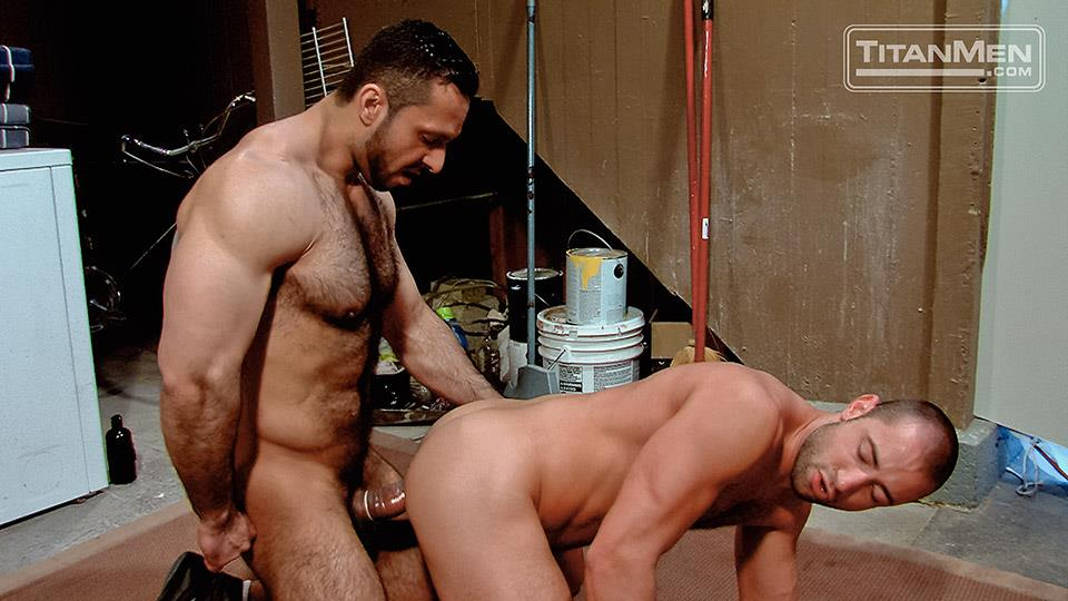 Titan-Media-Adam-Champ-and-Donnie-Dean-Hairy-Muscle-Bear-With-Big-Uncut-Cock-Fucking-Amateur-Gay-Porn-20 Hairy Muscle Bear Adam Champ Fucking A Tight Ass With His Big Uncut Cock