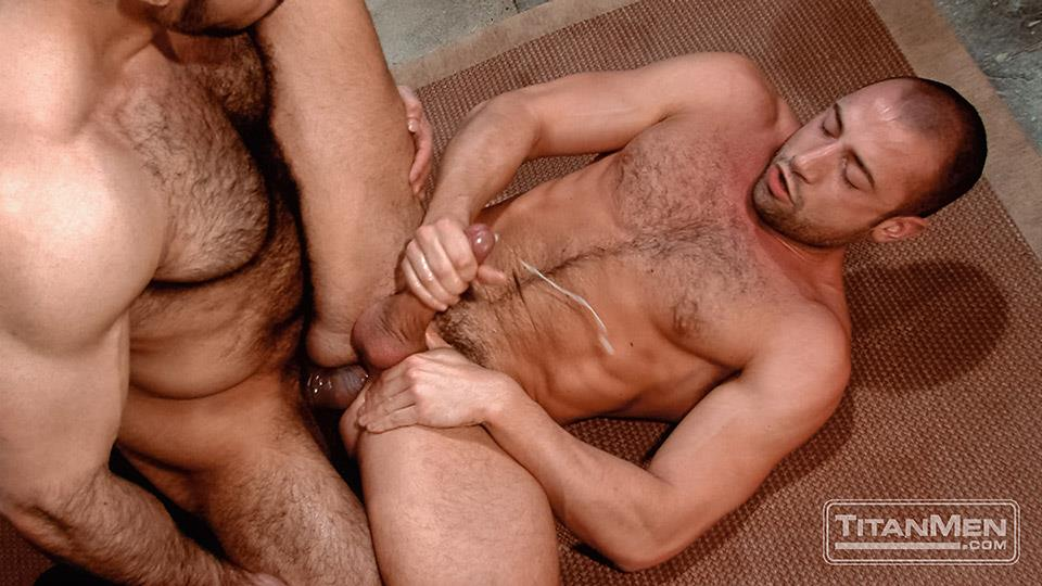 Titan Media Adam Champ and Donnie Dean Hairy Muscle Bear With Big Uncut Cock Fucking Amateur Gay Porn 26 Hairy Muscle Bear Adam Champ Fucking A Tight Ass With His Big Uncut Cock