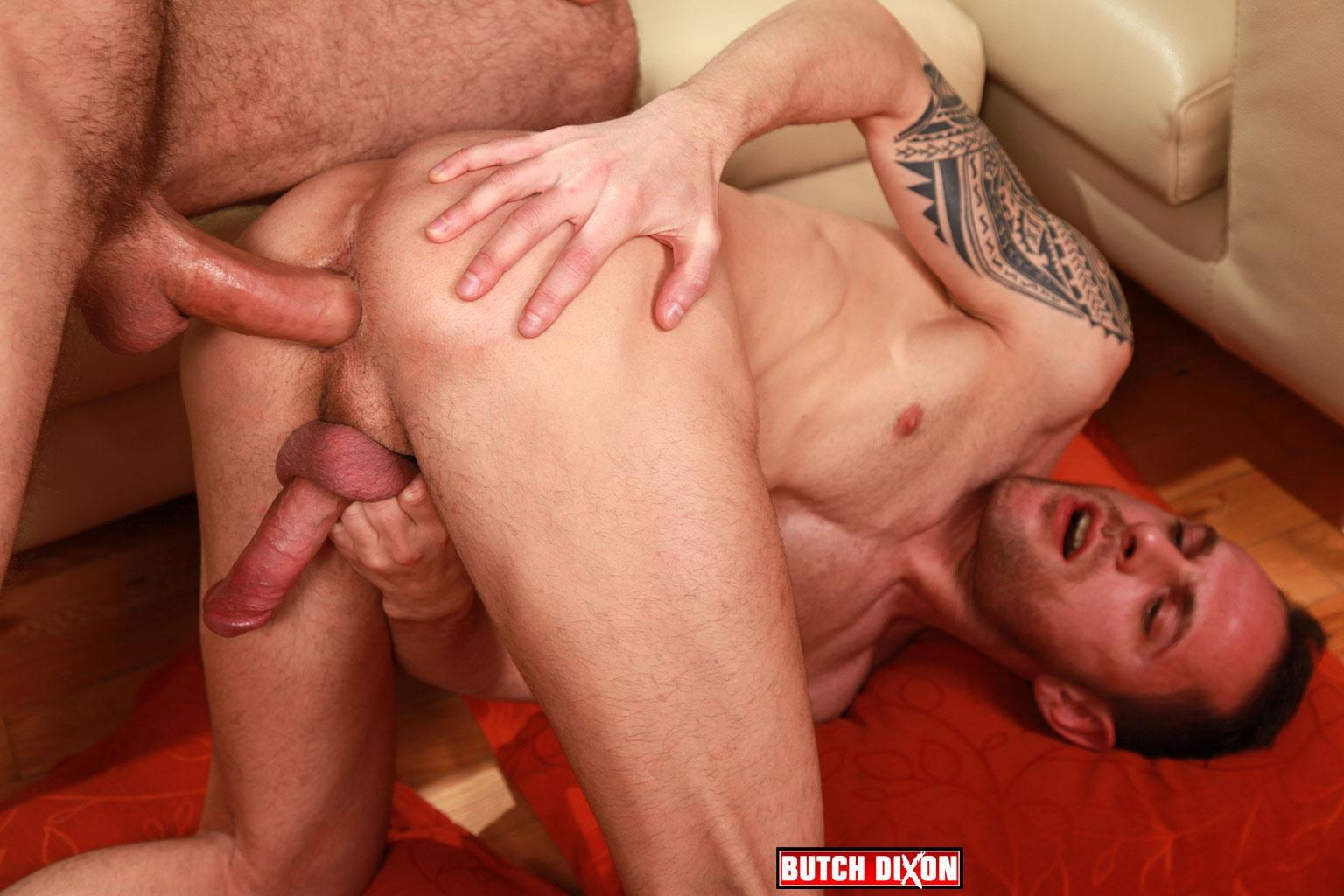 Butch Dixon Aitor Bravo and Craig Daniel Big Uncut Cock Barebacking Breeding BBBH Amateur Gay Porn 18 Craig Daniel Barebacking Aitor Bravo With His Huge Uncut Cock