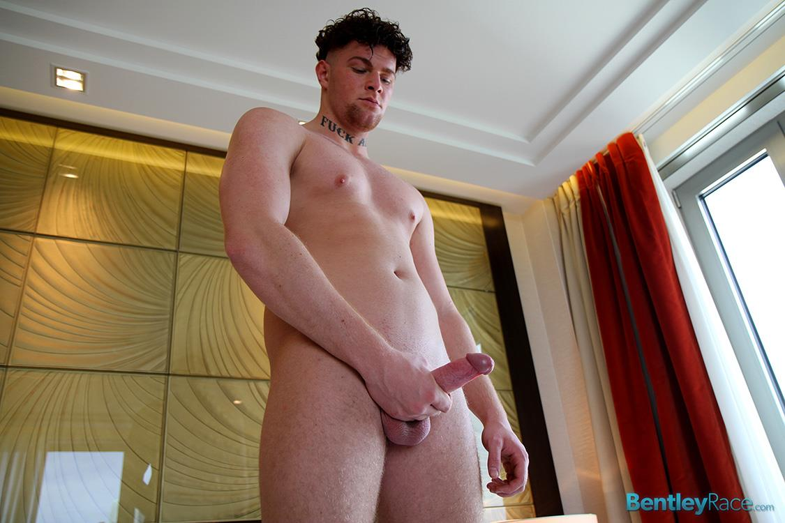 Bentley-Race-Brock-Wyman-Young-Beefy-German-With-A-Big-Uncut-Cock-Masturbation-Amateur-Gay-Porn-20 22 Year Old Straight Beefy German Hunk Stroking His Big Uncut Cock