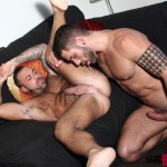 Hard Brit Lads Sergi Rodriguez and Letterio Amadeo Big Uncut Cock Fucking Amateur Gay Porn 14 150x150 Hairy British Muscle Hunks Fucking With Their Big Uncut Cocks