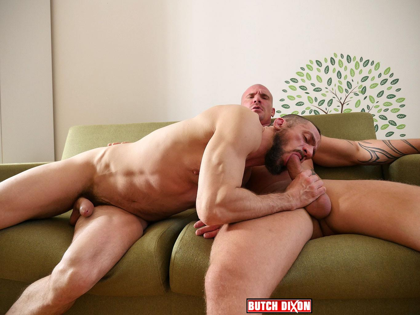 Butch Dixon Erik Lenn and Mike Bourne Masculine Guys Fucking Bareback Amateur Gay Porn 11 Beefy Masculine Guys Fucking Bareback With A Big Uncut Cock