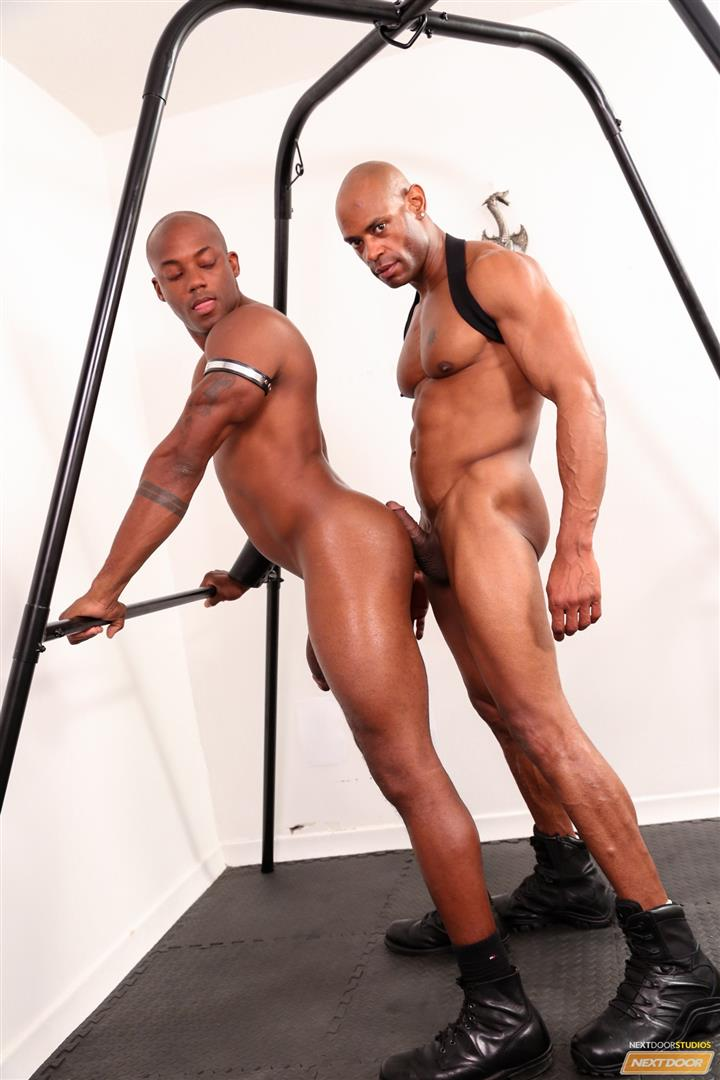 Marlone-Starr-and-Osiris-Blade-Next-Door-Ebony-Big-Black-Cocks-Fucking-Amateur-Gay-Porn-15 Osiris Blade Takes Marlone Starr's Massive Horse Cock Up The Ass