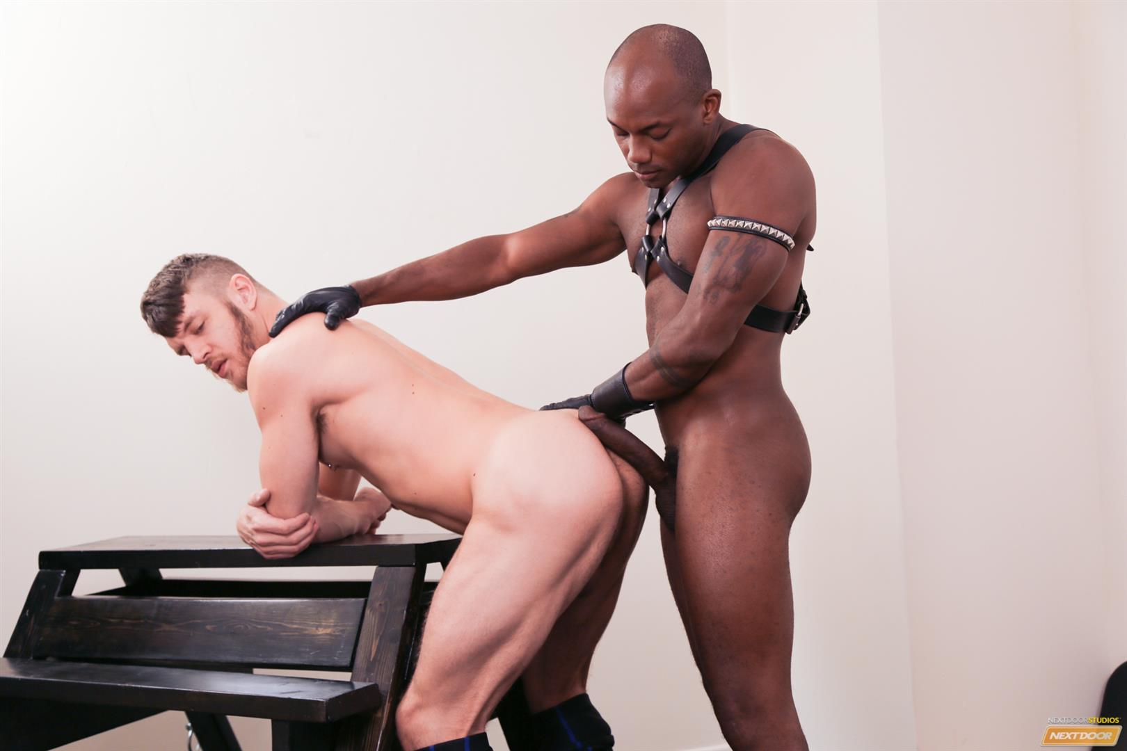 Next Door Ebony Osiris Blade and Caleb King Big Black Cock In White Ass Amateur Gay Porn 14 Caleb King Gets Dominated By Osiris Blades Big Black Cock
