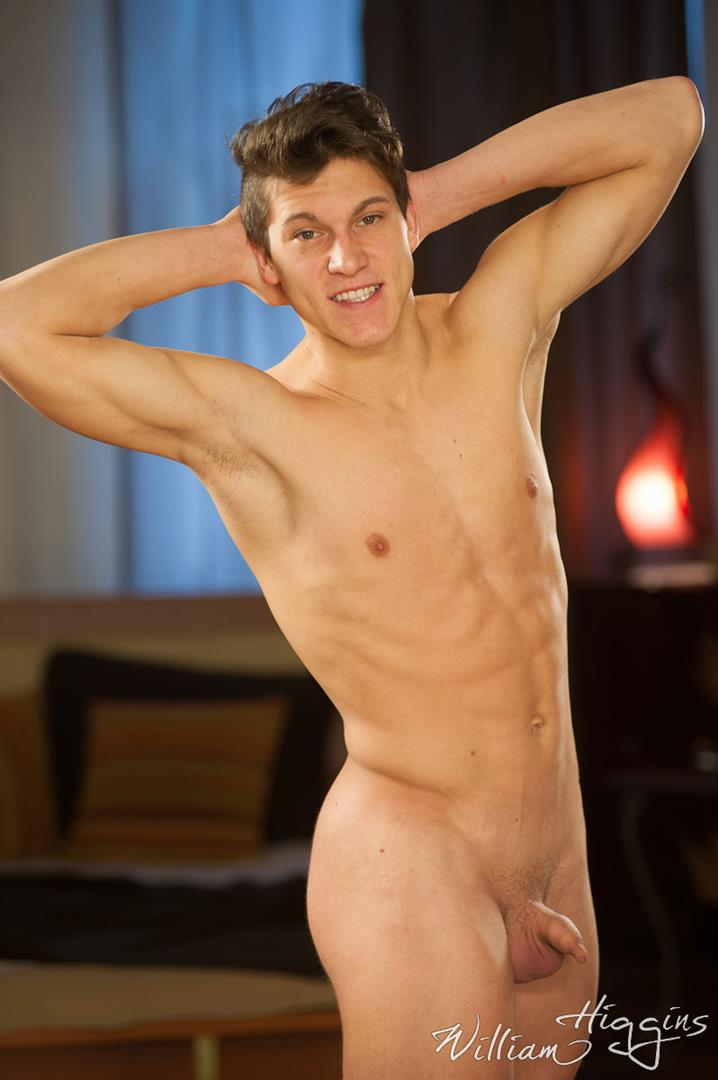 William Higgins Igor Tenar Czech Muscle Boy With A Big Uncut Cock 07 Czech Muscle Boy Plays With His Hairy Ass And Uncut Cock