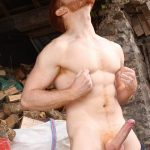 UK-Hot-Jocks-Leander-and-Leon-Teal-Naked-Ginger-With-Big-Cock-05-150x150 Tall Hung Uncut Leander Fucking Leon Teal's Muscular Ass