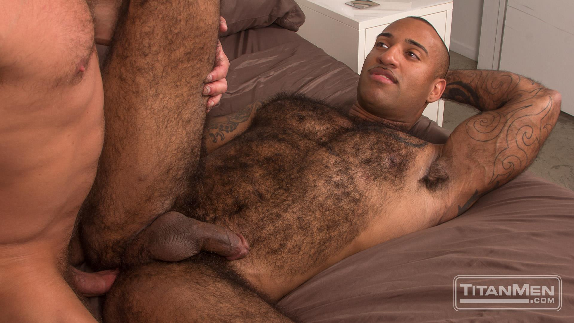 Titan-Men-Dirk-Caber-and-Daymin-Voss-Hairy-Muscle-Daddy-and-Big-Black-Dick-Fucking-53 Hairy Muscle Daddy Dirk Caber Flip Fucking With Hairy Black Muscle Hunk Daymin Voss