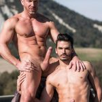Lucas-Entertainment-Tomas-Brand-and-Aaden-Stark-Big-Uncut-Cock-Daddy-Barebacking-05-150x150 Hung Muscle Daddy Tomas Brand Barebacking Aaden Stark With His Big Uncut Dick