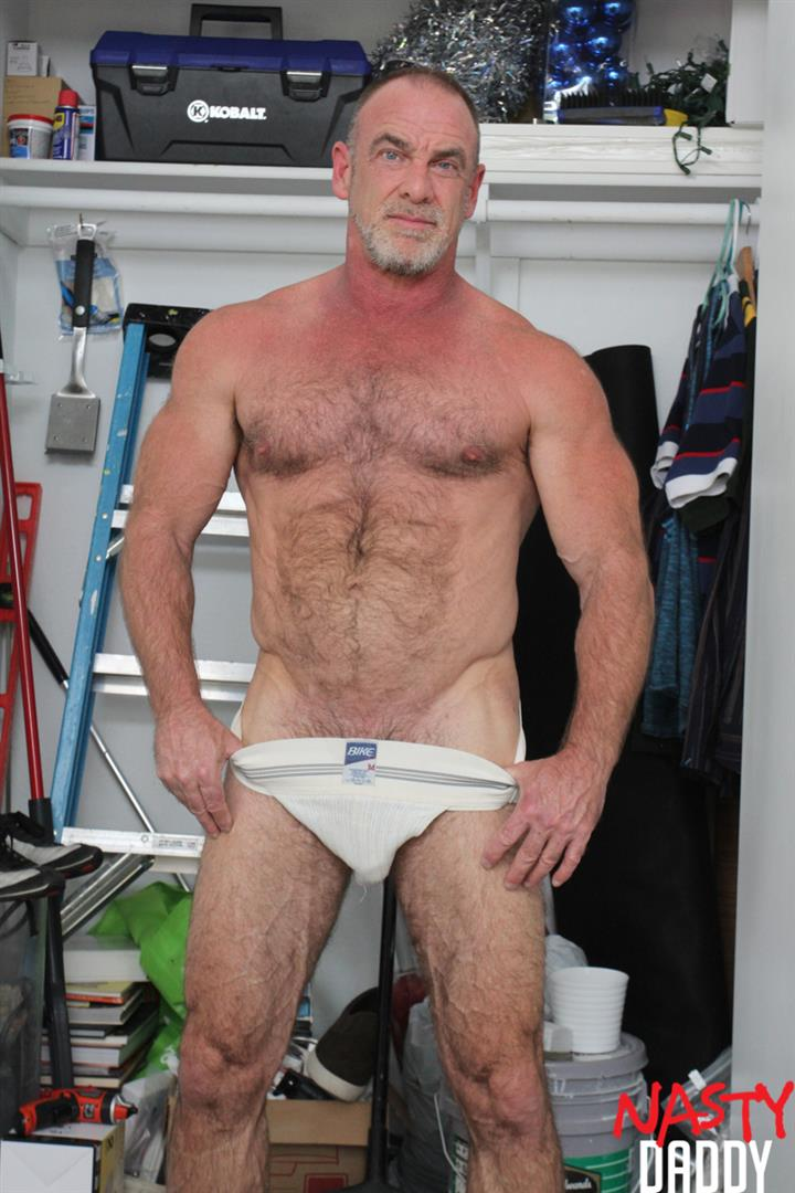 Nasty-Daddy-Trace-OMalley-Hairy-muscle-Daddy-With-Thick-Cock-Jerk-Off-Video-12 Hairy Muscle Daddy Shows Off His Thick Cock And Jerks Off